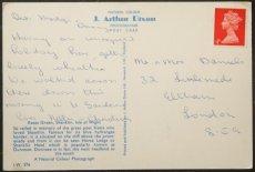 画像2: イギリス アンティークポストカード Keats Green Shanklin (2)