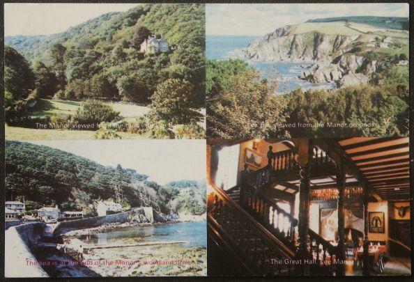 画像1: イギリス アンティークポストカード LEE MANOR (1)