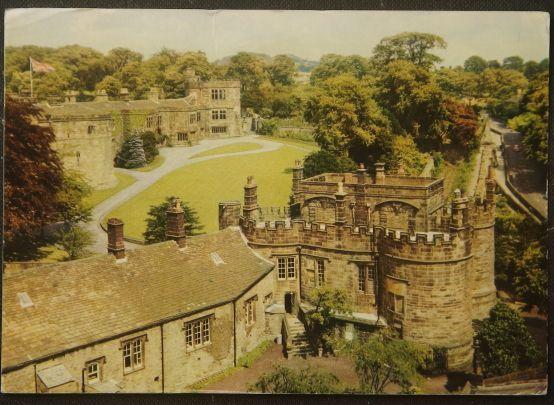画像1: イギリス 消印1976 アンティークポストカード SKIPTON YORKSHIRE スキプトン (1)