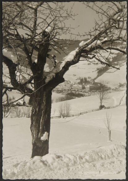 画像1: イギリス 消印あり アンティークポストカード St. Lambrecht ランブレヒット (1)