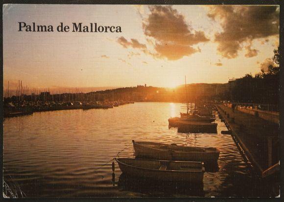 画像1: イギリス アンティークポストカード パルマ・デ・マヨルカ(Palma de Mallorca) (1)