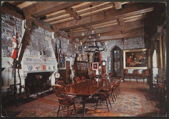 画像1: イギリス アンティークポストカード Eilean Donan Castle アイリーン・ドナン イギリスの島 (1)